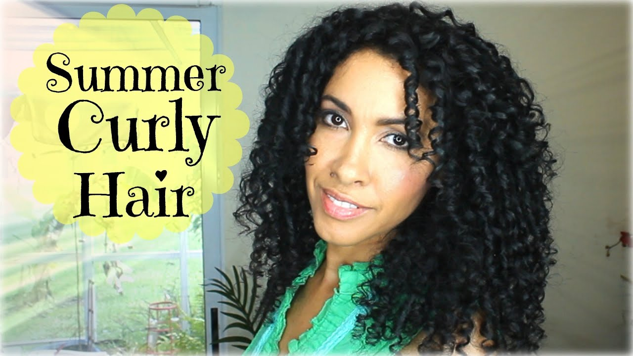 how to styles hair curly hair routine for the summer how to style curly 1445