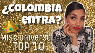 MIS TOP 10 DE MISS UNIVERSO 2019 (PREDICCIÓN)