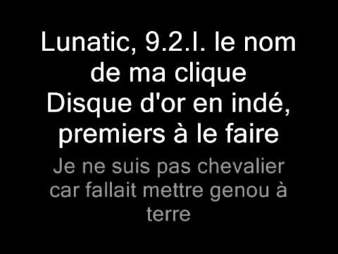 Booba Feat. Akon - Lunatic (Lyrics)