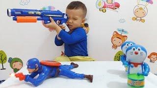 Tuấn Minh đấu súng với siêu nhân anh hùng _ Superman !!