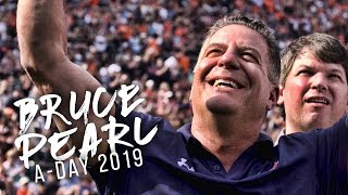 Watch as Bruce Pearl and Auburn Basketball are honored during A-Day