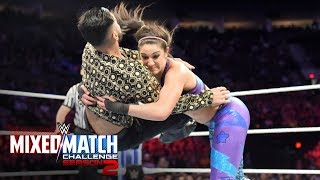 Sunil Singh suffers a Bayley-to-Belly: WWE Mixed Match Challenge, Oct. 2, 2018