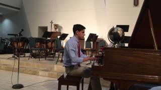 Zachary's Spring Piano Recital 2017