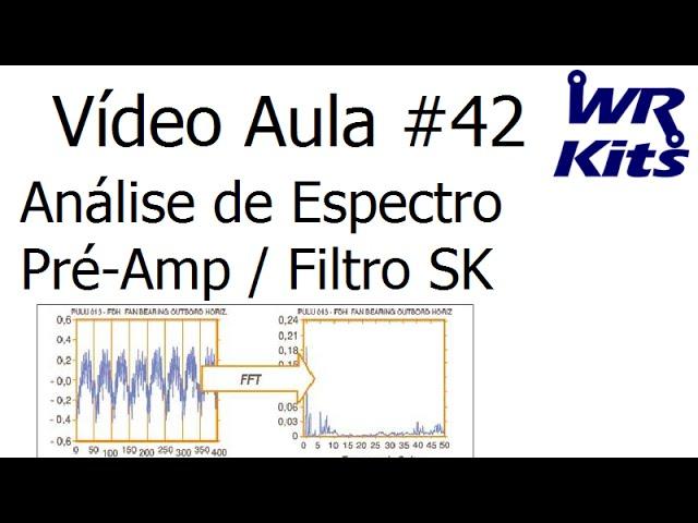 ANÁLISE DE ESPECTRO PRÉ-AMP/FILTRO SK | Vídeo Aula #42