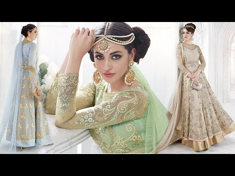 Anarkali Dresses Designs Long Floor Length New Anarkali Dresses Stylish Patterns Online India shoppi