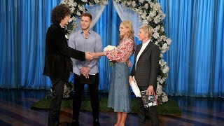 Beth and Howard Stern Have a Surprise Wedding
