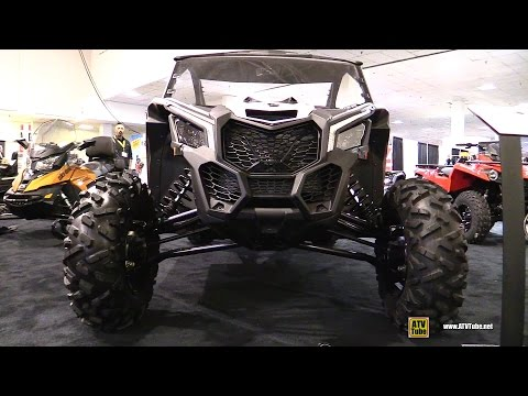 2017 Can Am Maverick X3 Turbo R 900cc Side BY Side ATV - Walkaround - 2016 Toronto ATV Show