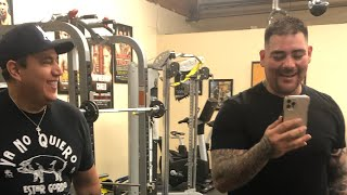 Andy Ruiz Like You've Never Seen Before - EsNews Boxing