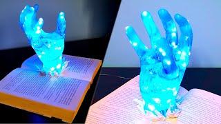 Epoxy Resin Hand Night Lamp  Resin Art