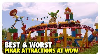 BEST & WORST Pixar Attractions at Walt Disney World | Best and Worst | 01/23/19