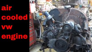 Rotten vw engine tear down, can it be saved?