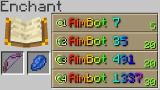 Minecraft, But There Are Custom Enchants...
