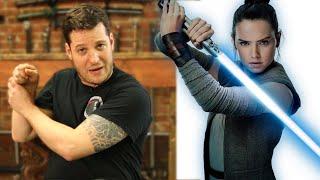 Expert Sword Fighter Reviews Star Wars Lightsaber Battle Scenes