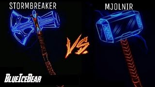 Stormbreaker Vs Mjolnir | Superhero Showdown In Hindi | BlueIceBear