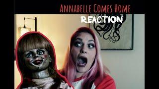Hi, I'm Karen: Annabelle Comes Home Trailer Reaction