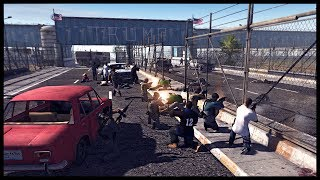 THE ATTACK ON TRUMPS WALL! Massive Mexican Cartel Assault - Men of War Red Rising Mod Gameplay