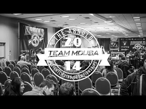Team MDUSA   2014 Arnold Weightlifting Championships