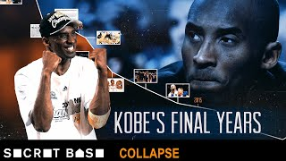 How the Lakers fell from contention to ruin during Kobe Bryant's final seasons