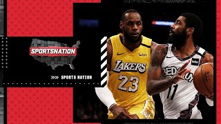 Should the Lakers be favorites over the Nets to win the NBA Finals next season?   SportsNation