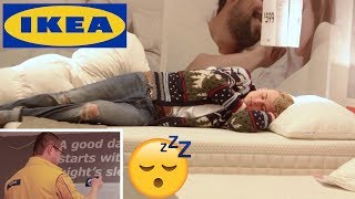 Falling Asleep IN IKEA and NOT Waking Up! (GONE WRONG)