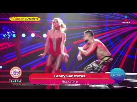 ¡Britney deja en shock cantando en vivo durante su show! | Sale el Sol