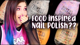 SinfulColors Sweet and Salty Nail Polish Collection Review (Scented)    KELLI MARISSA