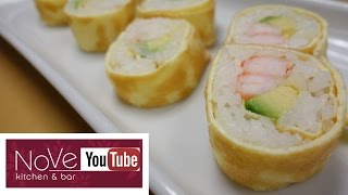Tamago Maki - How To Make Sushi Series