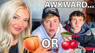 ASKING BOYS AWKWARD QUESTIONS!