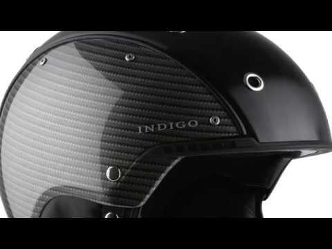 Indigo Carbon Ski Helmet in Titan