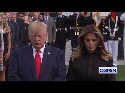 White House Moment of Silence on September 11, 2019