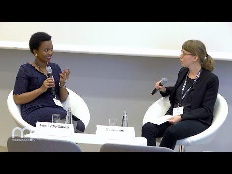 Diskussion: Meinungsfreiheit unter Lebensgefahr - Ines Lydie Gakiza