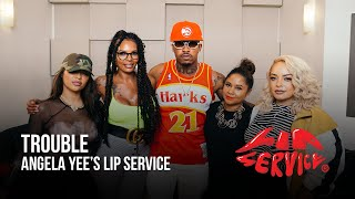 Angela Yee's Lip Service Feat. Trouble