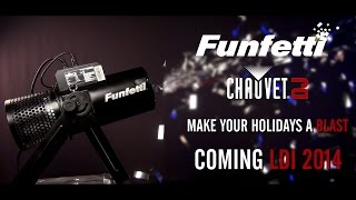 CHAUVET DJ FUNFETTI REFILL COLOR in action