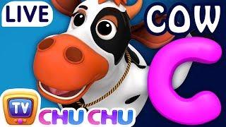 ChuChu TV Nursery Rhymes & Kids Songs Live Stream - ABC Phonics Song