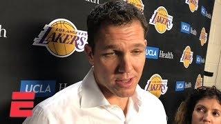 Luke Walton on ejection vs. Rockets: Lonzo Ball 'getting hurt took it to another level' | NBA Sound