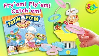 Fryin Flyin Donuts: New Fun Family Game    Toys Review Unboxing SGL