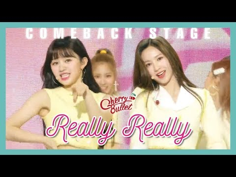 [Comeback Stage] Cherry Bullet - Really Really , 체리블렛 - 네가 참 좋아  Show Music core 20190525
