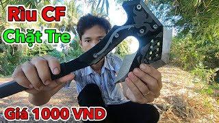 Lâm Vlog - Thử Dùng Rìu CF Chặt Tre và Cái Kết | AXE vs Bamboo