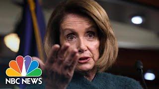 Nancy Pelosi: GOP May Oppose President Donald Trump If He Declares National Emergency | NBC News