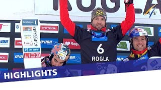 Prommegger pips Coratti to the post in Rogla | Highlights