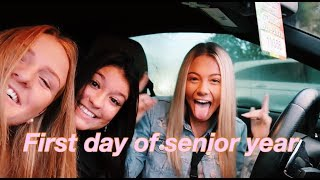FIRST DAY OF SENIOR YEAR!!!