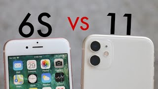 iPhone 11 Vs iPhone 6S SPEED TEST! (2020)