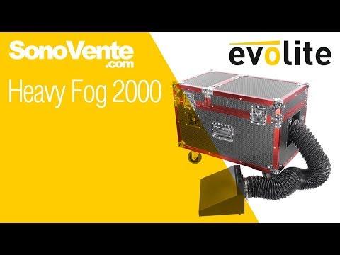 Vidéo Démo Evolite Heavy Fog 2000