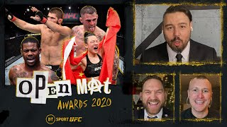 Open Mat 2020 Awards Show and UFC in 2020 review!