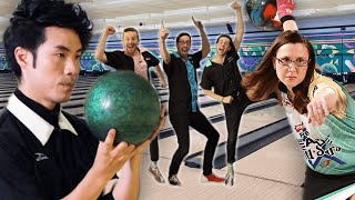 Can 4 Guys Beat A Professional Bowler?!