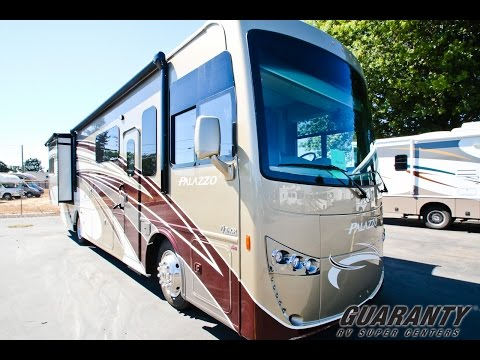 2017 Thor Palazzo 33.2 Class A Diesel Motorhome • Guaranty.com