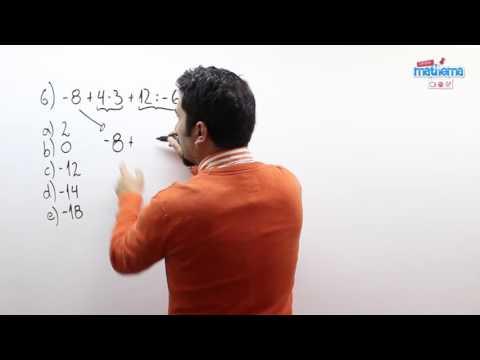 Prueba de números enteros 6