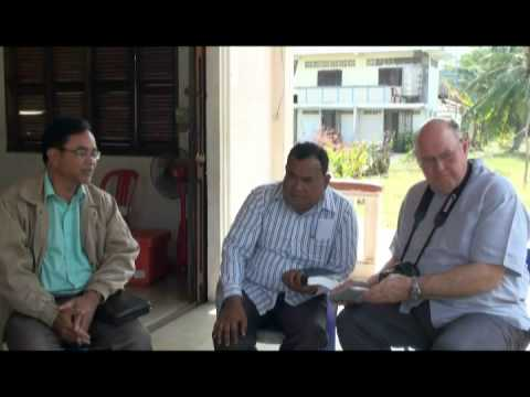 Rev Sarann Nget and his church ministry in Kampot province part 1