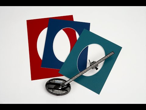 Oval & Circle Mat Cutter