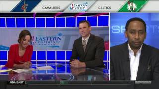 Stephen A  Smith reacts to Game 2 Celtics vs Cavs He is disgusted